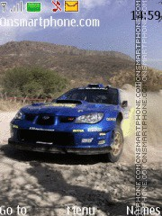 Скриншот темы Subaru Impreza WRX Rally By Space 95