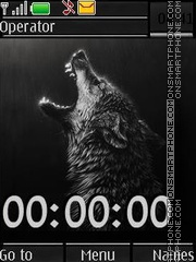 Wolves swf theme screenshot