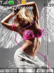 Sweet Angel 01 es el tema de pantalla