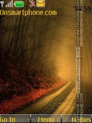 Foggy Road es el tema de pantalla