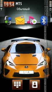 Lexus Lfa 02 theme screenshot