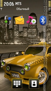 Taxi 06 theme screenshot