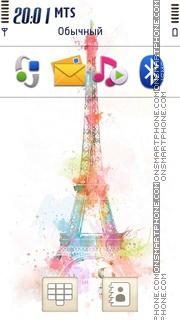 Paris 14 theme screenshot