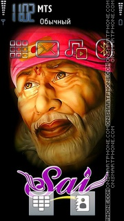 Sai Baba 03 theme screenshot
