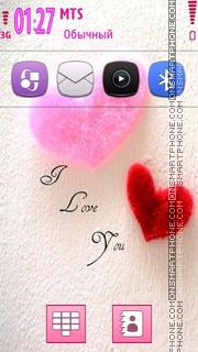 I Love You 43 es el tema de pantalla