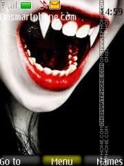 Vampire Girl es el tema de pantalla