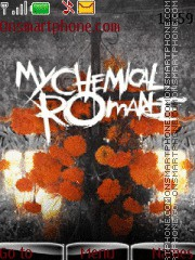 My Chemical Romance 05 theme screenshot