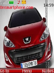 Peugeot 308 01 Theme-Screenshot
