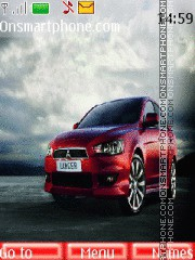 Mitsubishi lancer x theme screenshot