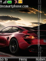 Red Porsche 03 Theme-Screenshot