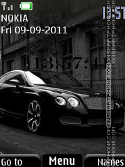 Black Bentley 01 theme screenshot