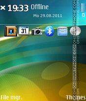 Yellow Green 01 theme screenshot
