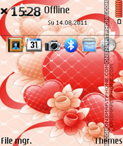 Love 14 theme screenshot