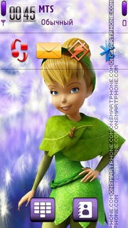 Tinkerbell 05 theme screenshot