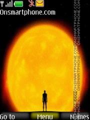 Sun and Man Theme-Screenshot