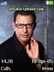 Jeff Goldblum tema screenshot