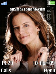 Kelly Preston I. theme screenshot
