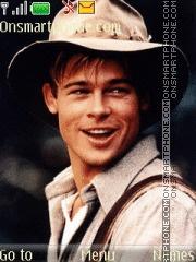 Скриншот темы Brad Pitt 05