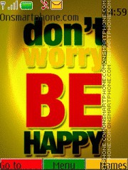 Be Happy 07 es el tema de pantalla