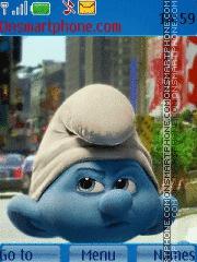 The Smurfs 01 theme screenshot