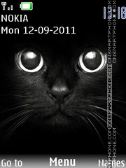 Black Cat 10 theme screenshot