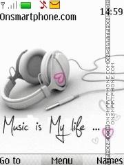 Music Is My Life 05 theme screenshot