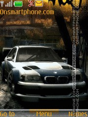 Bmw 03 theme screenshot