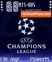 UEFA Champions League theme screenshot