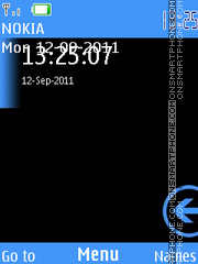 Windows Phone 7 theme screenshot