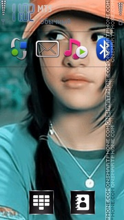 Selena Gomez 04 Theme-Screenshot