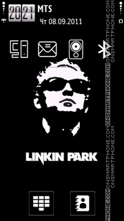 Linkin Park 5808 theme screenshot