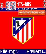 Atletico Madrid 01 theme screenshot