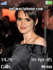 Winona Ryder I. tema screenshot