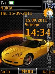 Yellow Bestia By ROMB39 theme screenshot