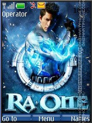 Ra.One theme screenshot