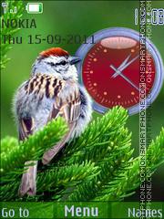 Скриншот темы Birdy