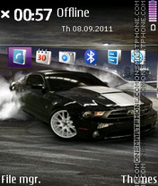 Ford Mustang SVT Cobra theme screenshot