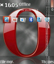 Opera 07 tema screenshot