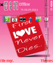 Love Never Dies 03 theme screenshot