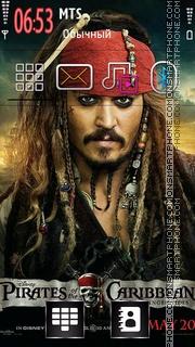 Pirates of the Caribbean 06 tema screenshot
