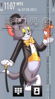 Скриншот темы Tom Jerry 04