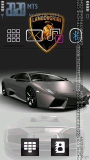 Скриншот темы Lamborghini 13
