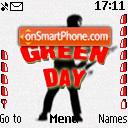 Green Day theme screenshot