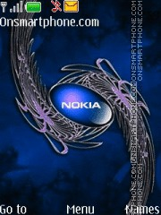 Nokia 7245 theme screenshot
