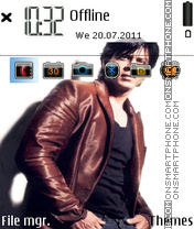 Shahrukh Khan 01 theme screenshot