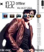 Capture d'écran Shahrukh Khan 01 thème