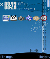 My world 02 Theme-Screenshot