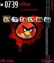 Скриншот темы Angry Birds 09