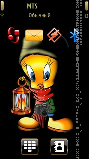 Tweety 21 theme screenshot