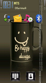 Be Happy Always 01 Theme-Screenshot